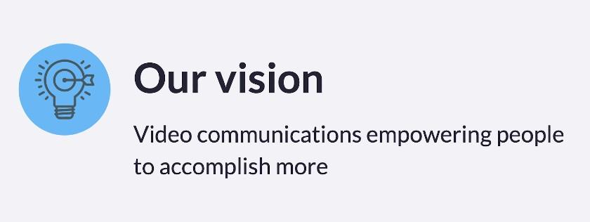 Screenshot of Zoom Vision Statement