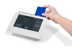 Swiping Credit Card on Card Reader