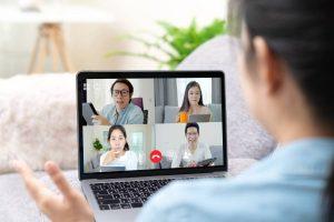 team meeting online