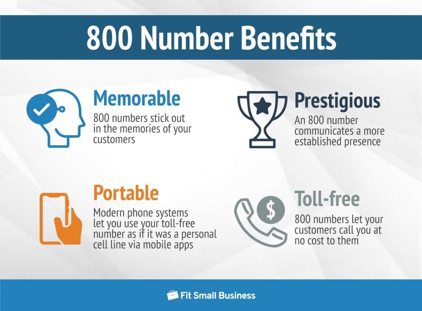 800 number benefits