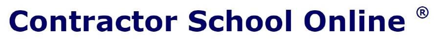 Contractor School Online