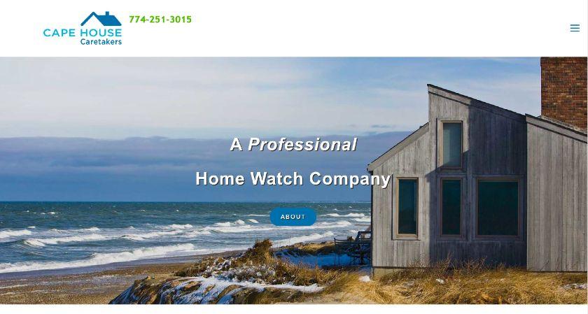 Cape House Caretakers website