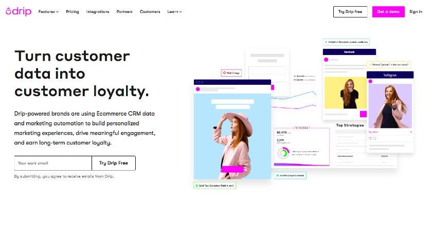 Drip website