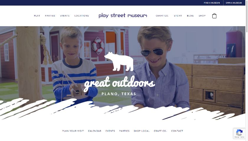 Play Street Museum website