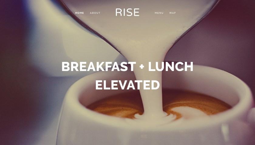 Rise website