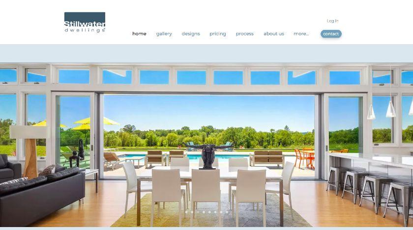 Stillwater Dwellings website