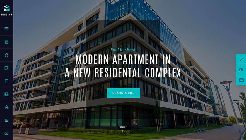 Windsor Apartment Complex Theme Sample