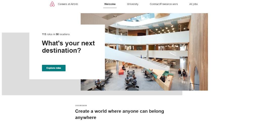 Screenshot of Airbnb Dashboard