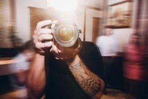 guy taking photos