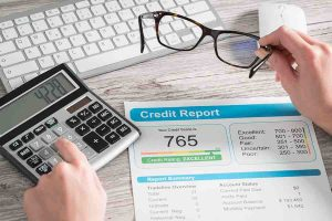 calculating credit report