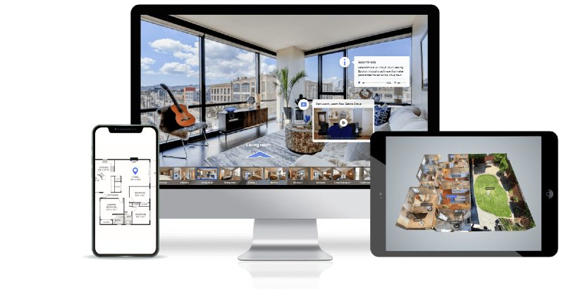 Asteroom's 3D virtual tour platform