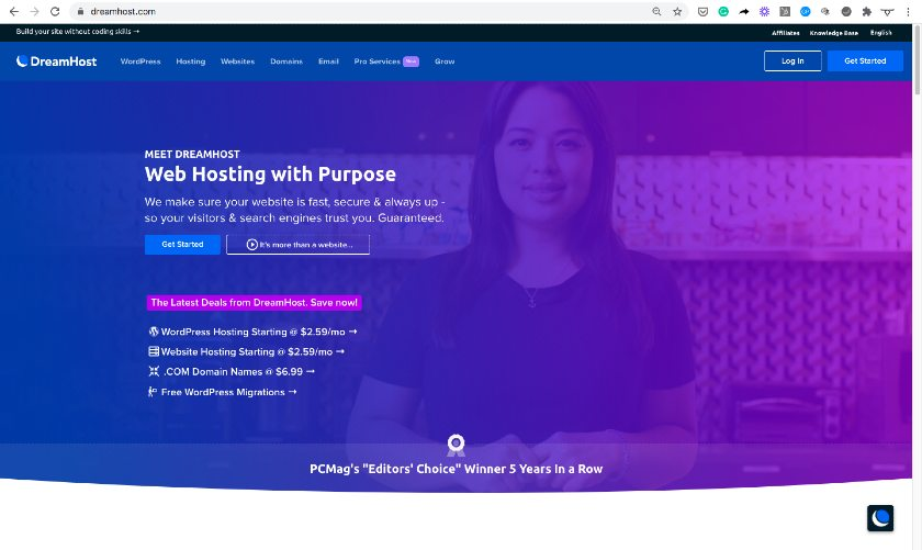 Domain Example - dreamhost.com