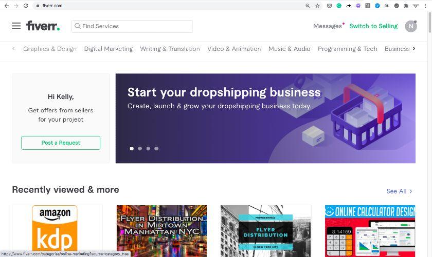 Domain Example - fiverr.com