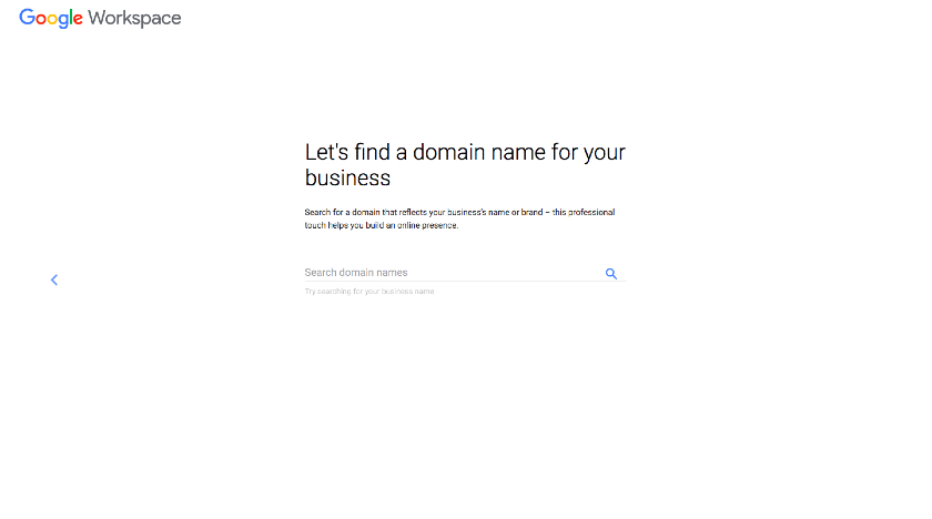 Get a New Domain