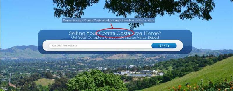 Home Value Leads IDX website