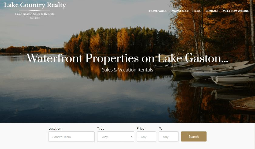 IDX feature of a realty website