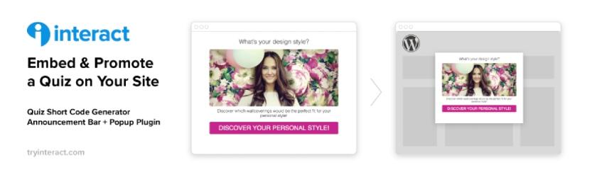 Interact Quiz Plugin for WordPress