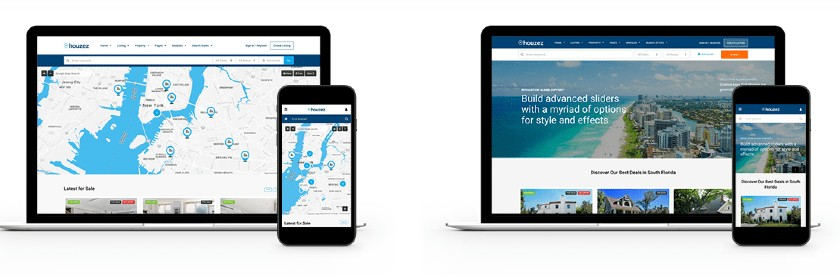 Mobile responsive themes