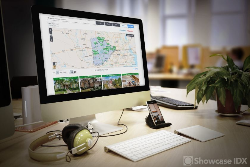 Showcase IDX Listings Desktop View