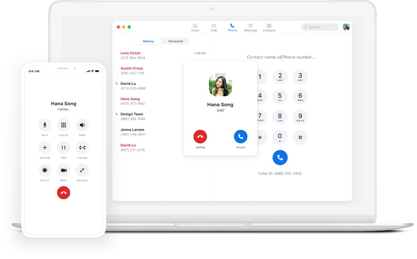 Zoom Phone VoIP system