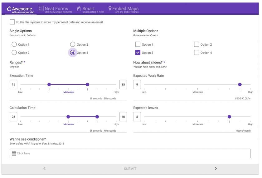 eForm Editor Interface