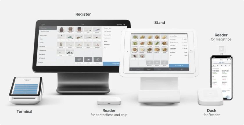 Screenshot of Square Retail Kit