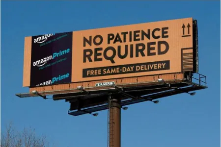 Advertising for a National Company - Amazon Prime