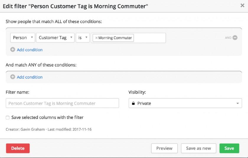 add customer tags in Pipedrive