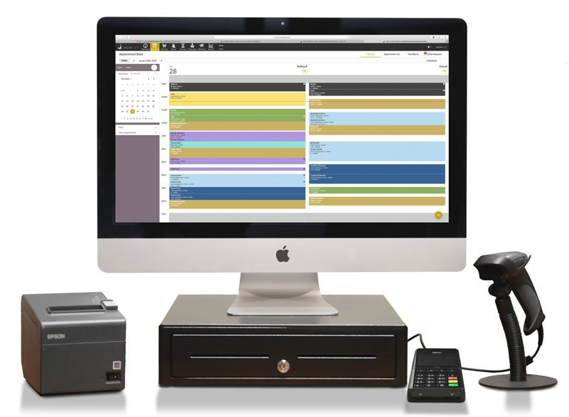 Screenshot of Salon Iris All-In-One Front Desk Solution
