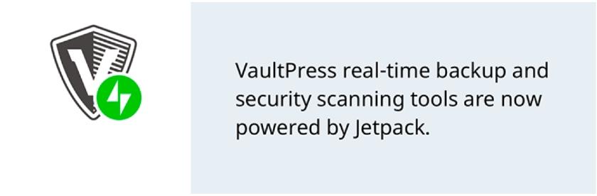 VaultPress Comprehensive Low-Cost Backup Plugin