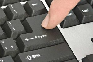 Pressing Payroll Key