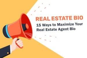 real estate agent bio