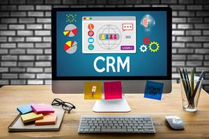 CRM Management Analysis Service Concept
