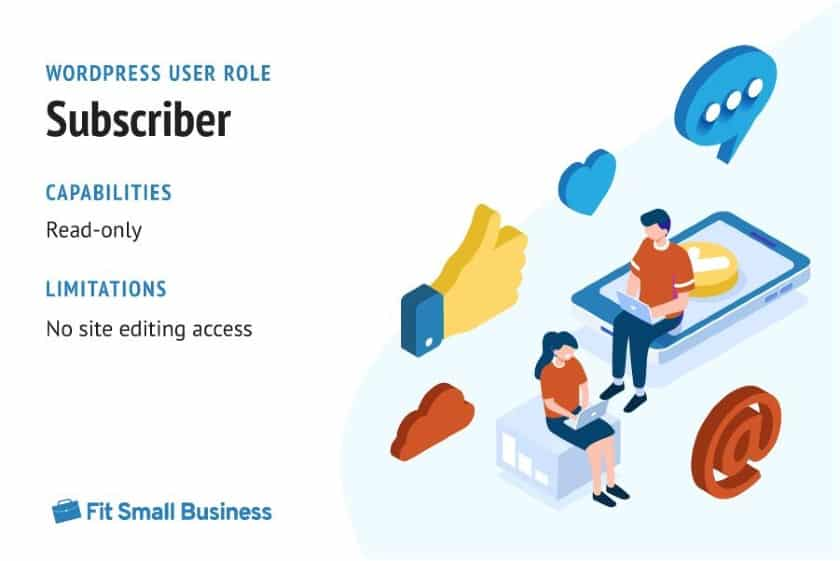WordPress User Role - Subscriber