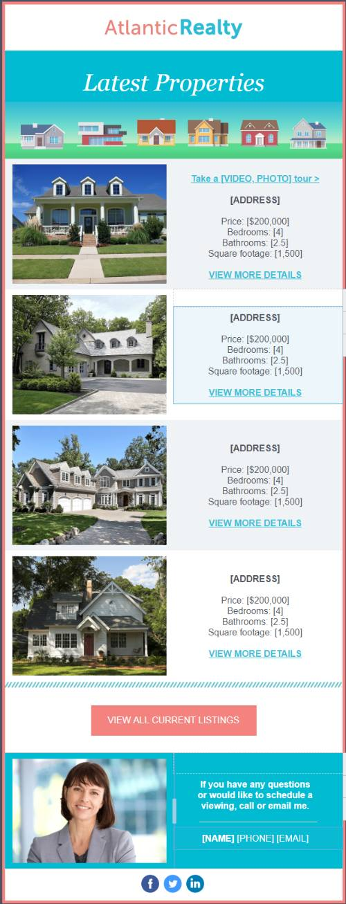 Atlantic Realty - Multiple Listing Promotion Template