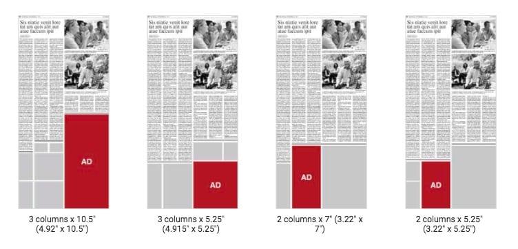 Digital Newspaper Ad Costs