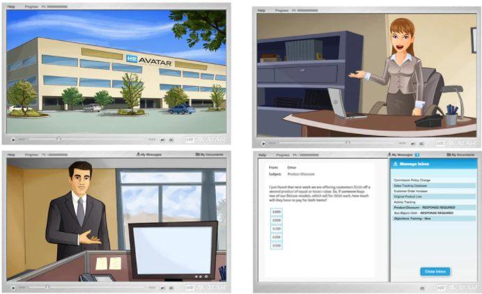 Screenshot of HR Avatar