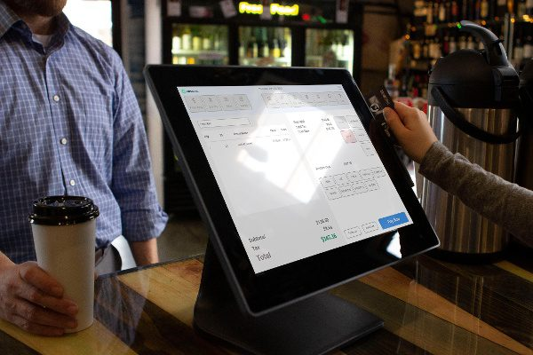 POS Nation runs on a touch-screen PC