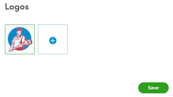 QuickBooks Online upload logo