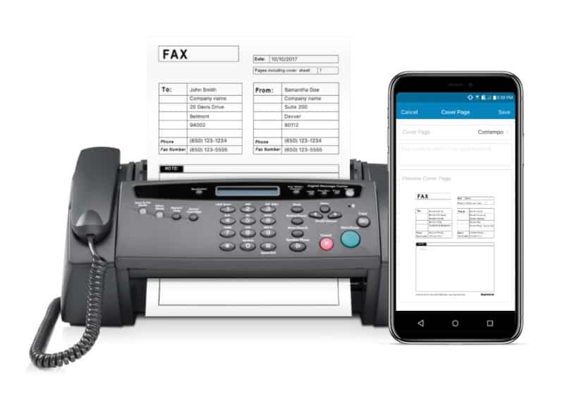RingCentral Fax online