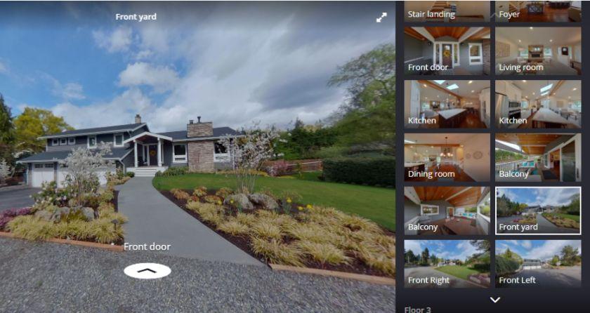 Zillow 3D Home Tour App