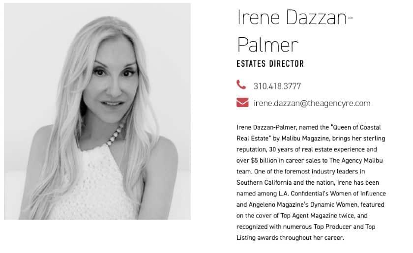 bio of Irene Dazzan-Palmer