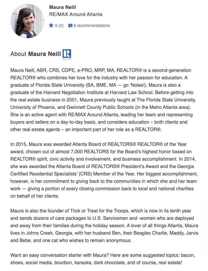 bio of Maura Neill