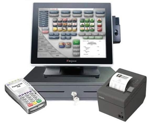 Screenshot of SpeedLine's POS Cash Register Receipt