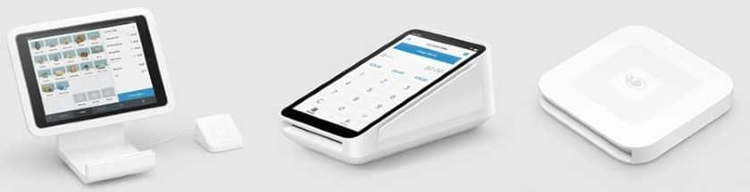 Screenshot of Square's iPad Terminal Mini Terminal and Bluetooth Card Reader