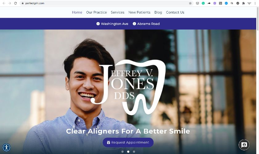 perfect grin Website