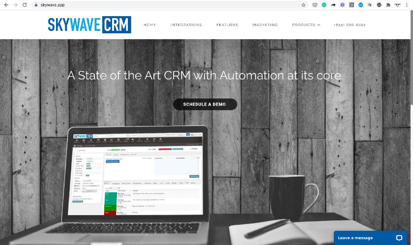 skywave CRM Website