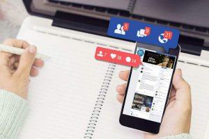 facebook app on mibile phone