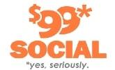 $99 Social Logo