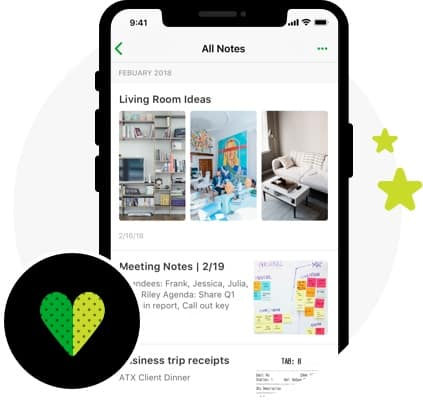 Evernote All Notes interface
